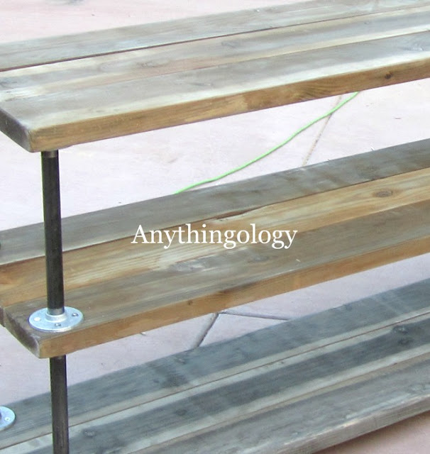 Awesome Shelf by http://anythingologyblog.blogspot.com/2012/03/diy-industrial-shelves.html